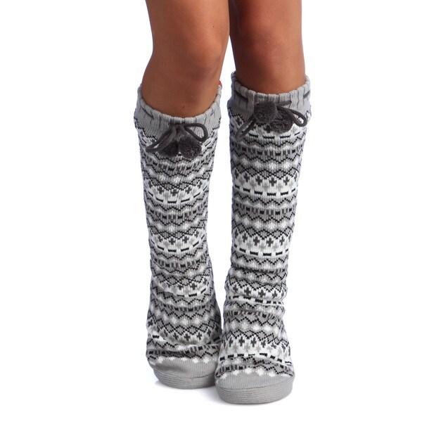 Pom Pom Lounge Slippers