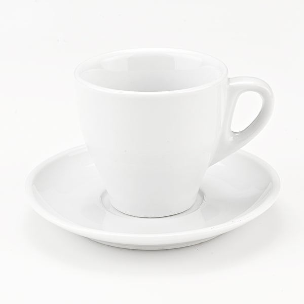 Lorren Home Trends Cappuccino/ Latte Mugs and Saucers (Set of 4)