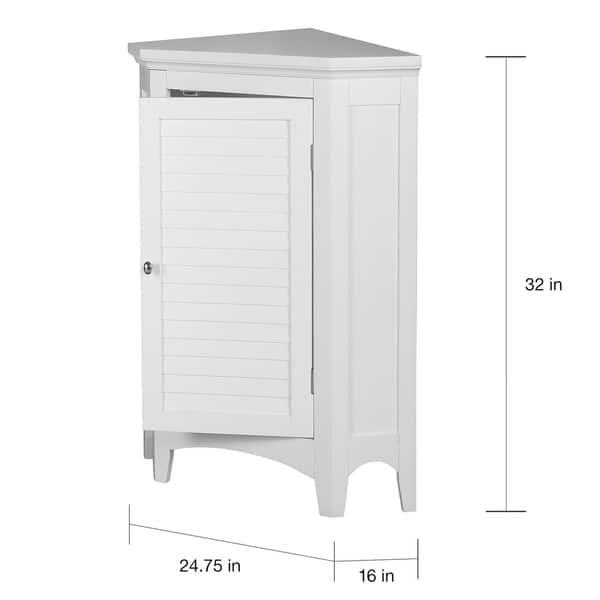 Bayfield White Shutter Door Corner