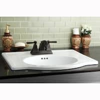 Shop Surface Mount 4 Inch Center Bathroom Sink Free