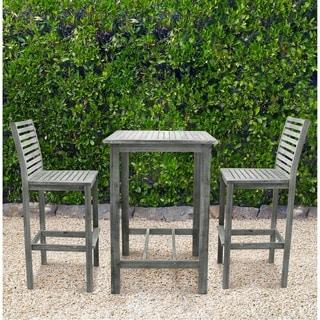 Malibu Eco-frienly Renaissance Outdoor Wood Bar Set