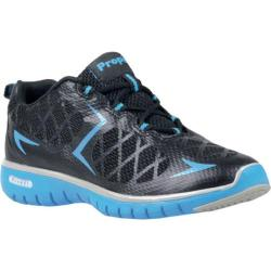Women's Propet TravelSport Black/Electric Blue