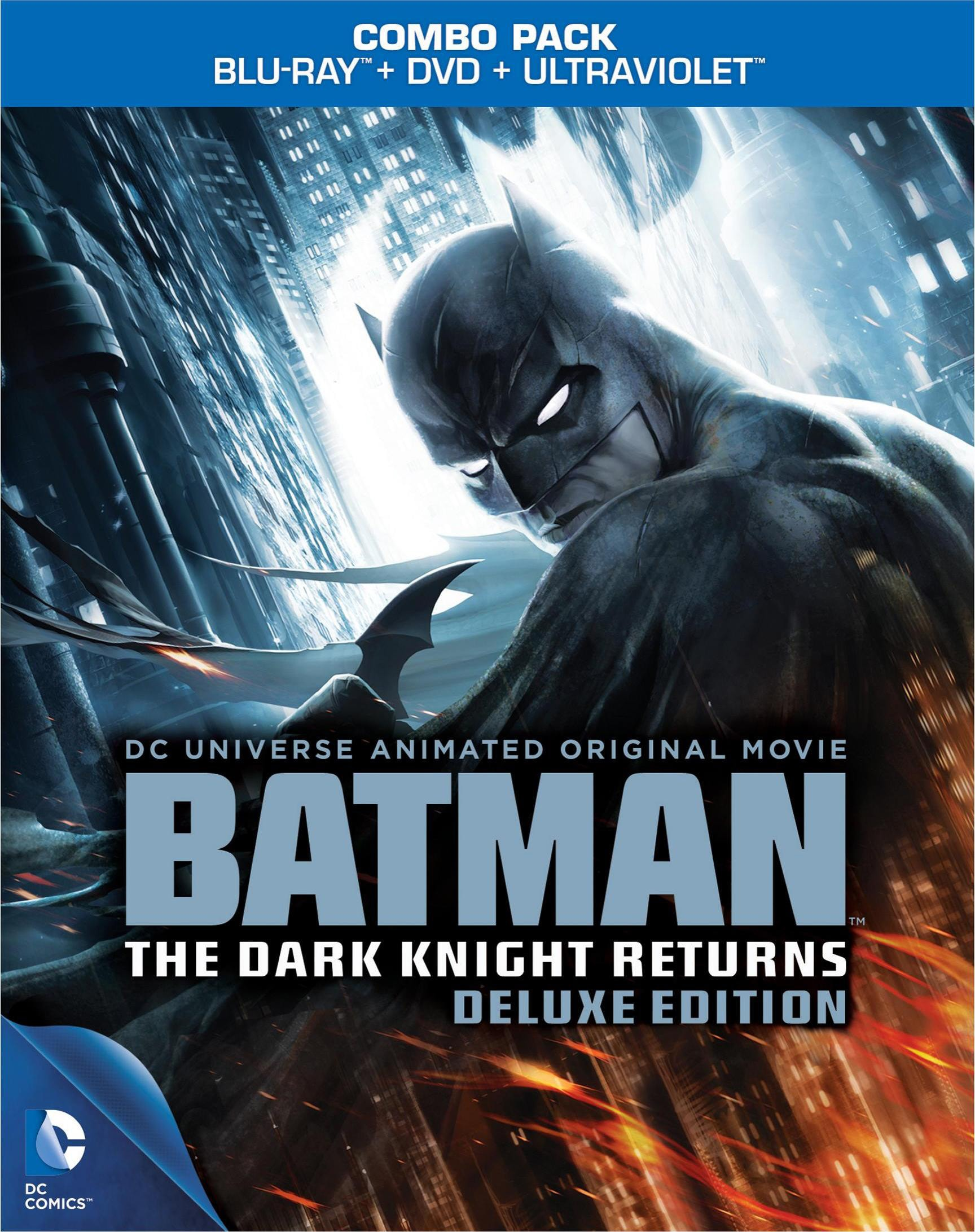 Batman: Dark Knight Returns Deluxe Edition (Blu-ray Disc)