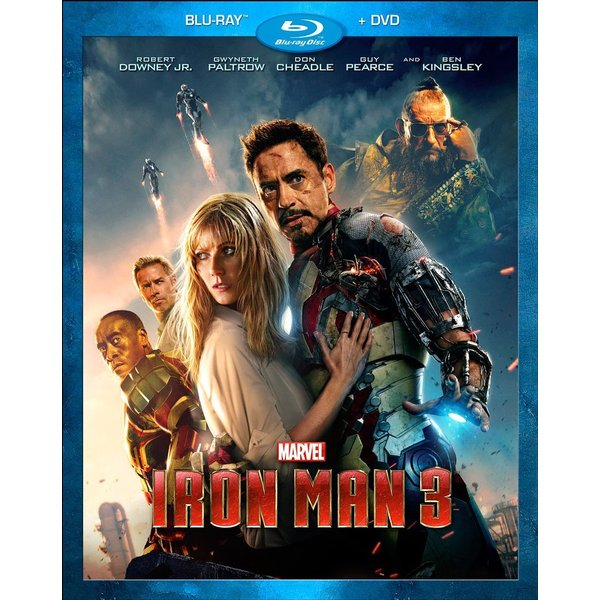 Iron Man 3 (Blu-ray/DVD)