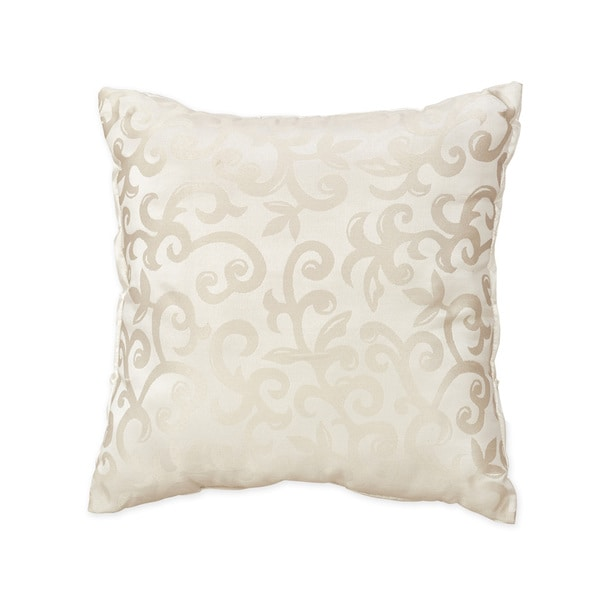 Ivory Decorative Throw Pillows : Sweet Jojo Designs Champagne and Ivory Victoria Decorative Accent Throw Pillow - Free Shipping ...