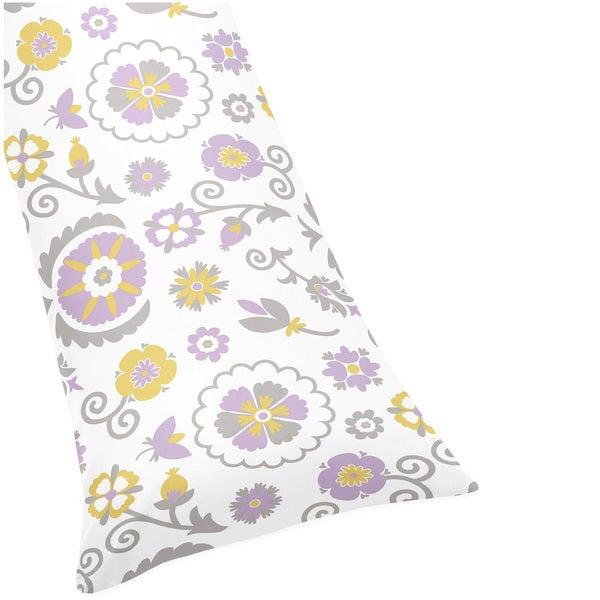 Sweet Jojo Designs Suzanna Full-length Double Zippered Body Pillowcase
