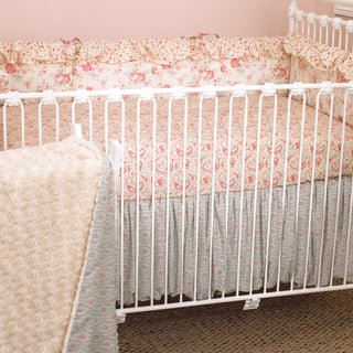 Cotton Tale Tea Party 4-piece Crib Bedding Set