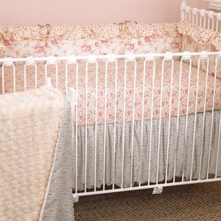 Cotton Tale Tea Party 4-piece Crib Bedding Set|https://ak1.ostkcdn.com/images/products/8163331/Cotton-Tale-Tea-Party-4-piece-Crib-Bedding-Set-P15503575.jpg?impolicy=medium