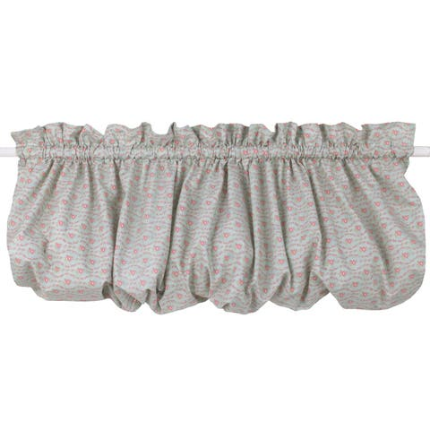 Cotton Tale Tea Party Nursery Curtain Valance