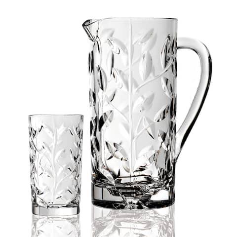 Laurus 7-piece Crystal Beverage Set