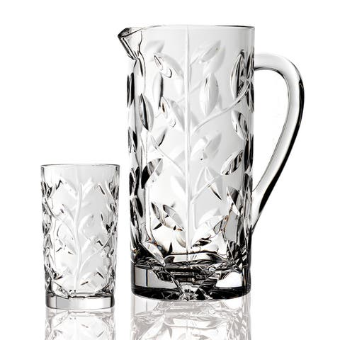 Laurus 7-piece Crystal Beverage Set