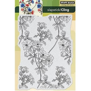 Penny Black Cling Stamps 5X7.5IN Sheet-Trailing Beauty