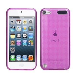 Link to Insten Pink Clear Argyle TPU Rubber Candy Skin Glossy Case Cover For Apple iPod Touch 5th/ 6th Gen Similar Items in MP3 & iPod Accessories