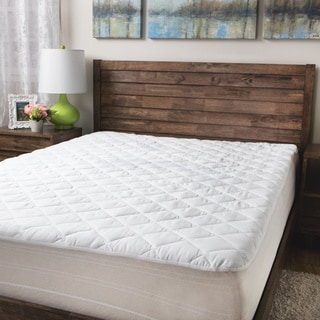 sealy 300 thread count premium cotton waterproof pad option twin