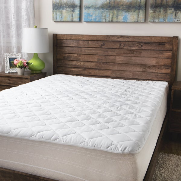 Sealy Posturepedic 300 Thread Count Premium Cotton Waterproof Pad