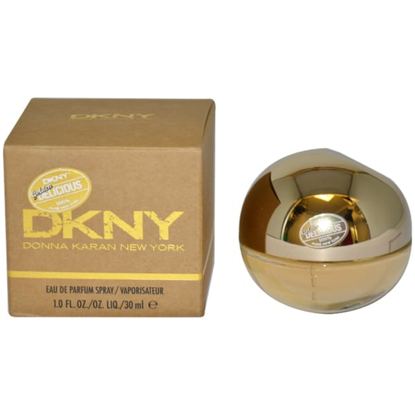 Shop Donna Karan Golden Delicious 1 Ounce Eau De Parfum Spray Free