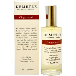 Demeter Gingerbread Women's 4-ounce Cologne Spray
