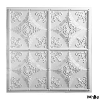 Basilica Ceiling Tile (Pack of 10) (3 options available)
