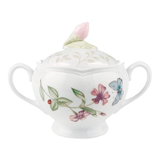 Lenox Butterfly Meadow Sugar Bowl