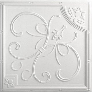 uDecor French Quarter Ceiling Tile (Pack of 10) (2 options available)