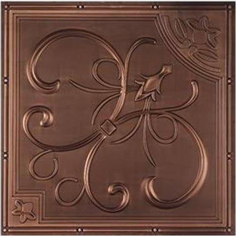uDecor French Quarter Ceiling Tile (10 tiles)