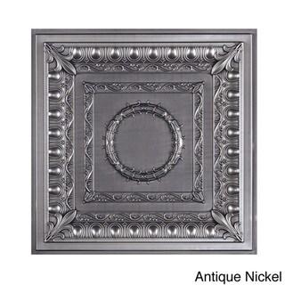 Royal Ceiling Tile (Pack of 10) (Antique Nickel)