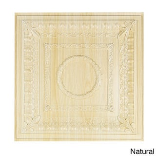 Royal Ceiling Tile (Pack of 10) (Natural - Polyvinyl)