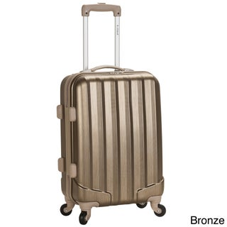 Rockland 20-inch Expandable Hardside Spinner Carry-on Upright (Option: Bronze)