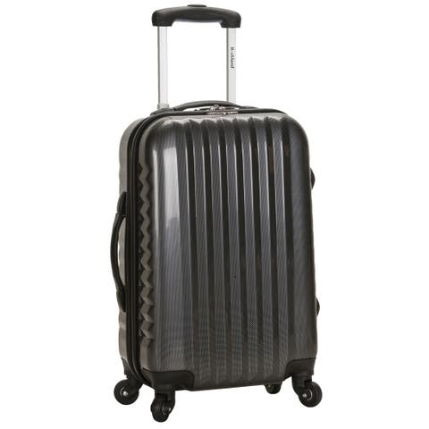 Rockland Carbon 20-inch Expandable Hardside Spinner Carry-on Upright