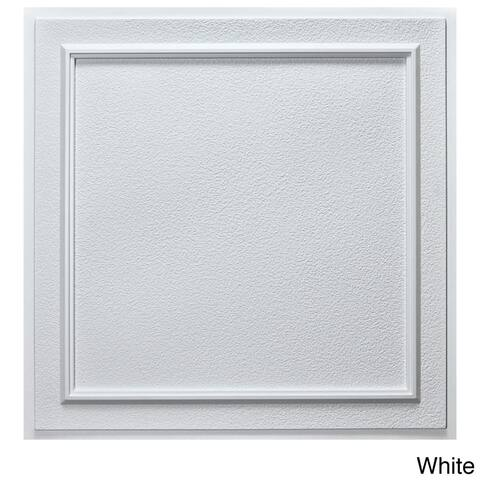uDecor Terrace 24-inch Ceiling Tiles (Pack of 10)