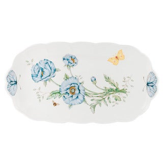 Shop Lenox Butterfly Meadow Oblong Tray Free Shipping