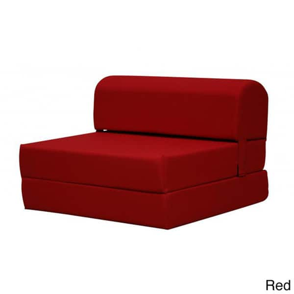 Swell Shop Tri Fold 70 Inch Foam Chair Bed Free Shipping Today Bralicious Painted Fabric Chair Ideas Braliciousco
