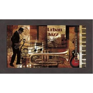 Paul Robert 'Urban Jazz' Framed Art Print