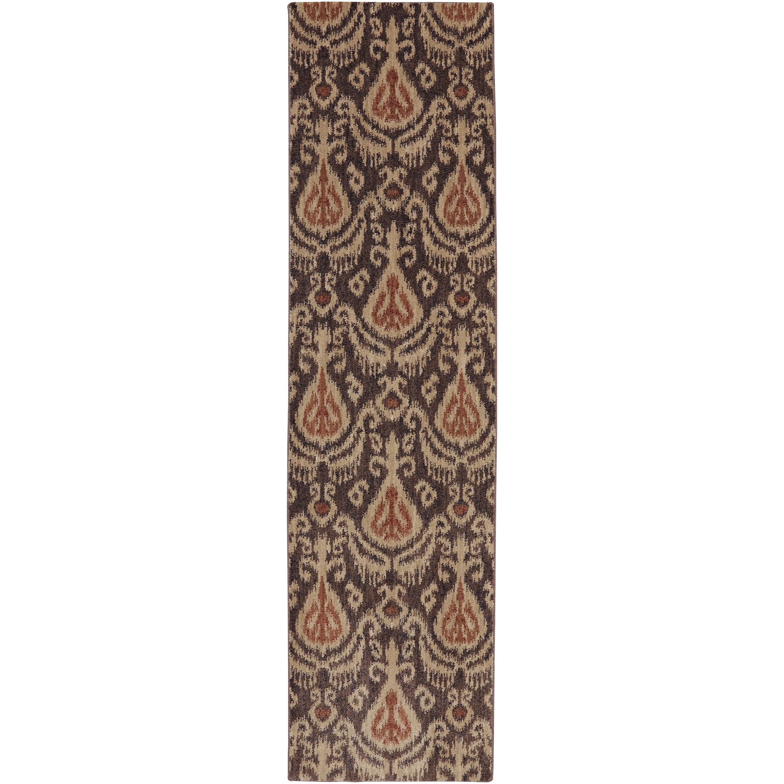 MOHAWK Dryden Chapel Latte Rug (2'1 x 7'10) (Dryden Chape...