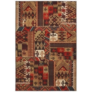 "Mohawk Madison Louis and Clark Bark Brown Rug (2'1 x 7'10) - 2'1"" x 7'10"""