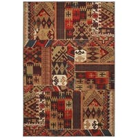"Mohawk Home Madison Louis and Clark Bark Brown Rug (2'1 x 7'10) - 2' 1""x7' 10"""