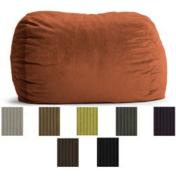 FufSack Wide Wale Corduroy 6-foot XL Bean Bag Chair
