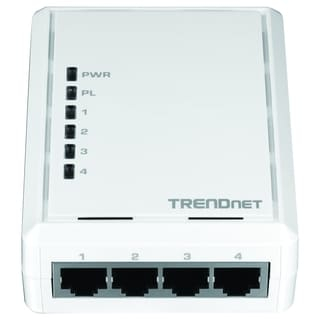 TRENDnet 4-Port Powerline 500 AV Adapter