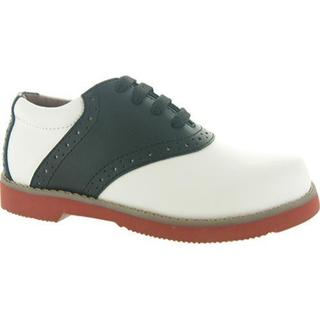 Girls' Academie Gear Spirit White and Black Saddle Shoes