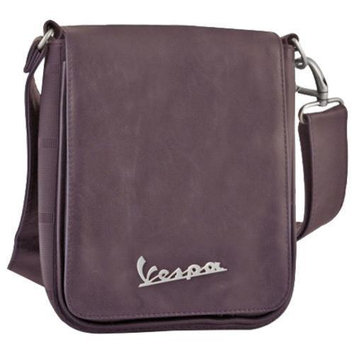 ec4698234fd8 Shop Vespa Small Sling Bag Imitation Leather Brown - Free Shipping ...