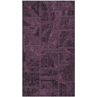 Safavieh Palazzo Black/ Purple Polypropylene/ Chen