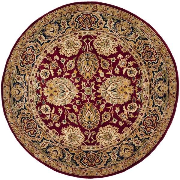 Safavieh Pl537b Persian Legend Wool Hand Tufted Navy Rust: Shop Safavieh Hand-made Persian Legend Rust/ Navy Wool Rug