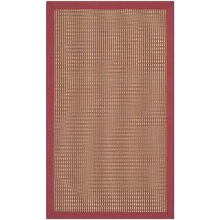 Safavieh Sierra Beige/ Red Rug (2'6 x 4'2)