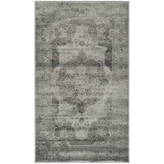 Safavieh Vintage Grey/ Multi Distressed Silky Viscose Rug (2'7 x 4')