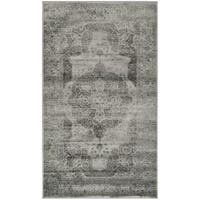Safavieh Vintage Grey/ Multi Distressed Silky Viscose Rug - 2'7 x 4'
