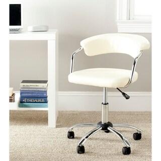 "Silver Orchid Kelly Cream Desk Chair - 20.7"" x 20.9"" x 27"""