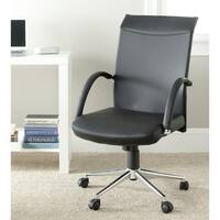 Safavieh Dejana Black Desk Chair