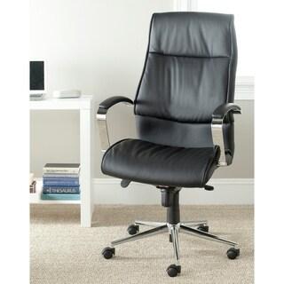 "Safavieh Fernando Black Desk Chair - 26"" x 26.8"" x 47.2"""