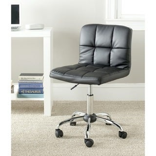 Safavieh Brunner Black Desk Chair