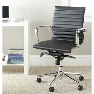Safavieh Loreley Black Desk Chair